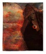 Familiar 2015 Fleece Blanket