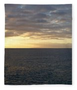 Fanabe Sunset Fleece Blanket