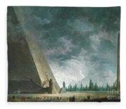 Fantaisie Egyptienne Fleece Blanket
