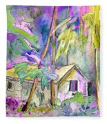 Fantaquarelle 08 Fleece Blanket