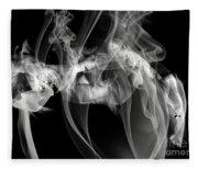 Fantasies In Smoke Iv Fleece Blanket