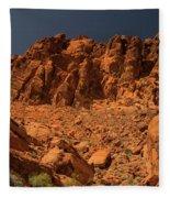 Fantastic Landscape Valley Of Fire Fleece Blanket