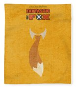 Fantastic Mr. Fox Fleece Blanket