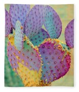 Fantasy Cactus Fleece Blanket