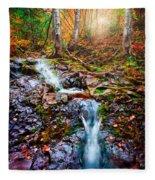Fantasy Forest Fleece Blanket