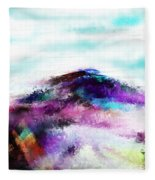 Fantasy Mountain Fleece Blanket