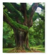 Fantasy Oak Fleece Blanket