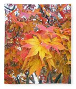 Fantasy Of Fall Fleece Blanket