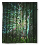 Fantasy Tree On Bamboo Fleece Blanket
