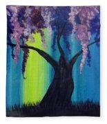 Fantasy Tree Fleece Blanket