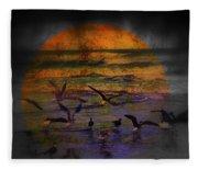 Fantasy Wings Fleece Blanket