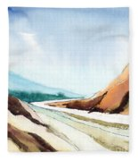 Far Away Fleece Blanket