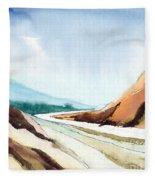 Far Away Fleece Blanket