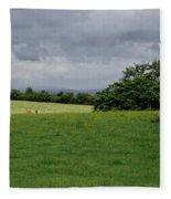 Faraway Rain. Fleece Blanket