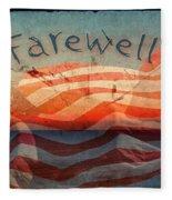 Farewell Fleece Blanket