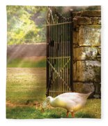 Farm - Geese -  Birds Of A Feather Fleece Blanket