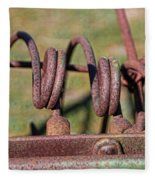 Farm Equipment 7 Fleece Blanket