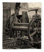 Farm Equipment Art Fleece Blanket