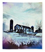 Farm Fantasy Fleece Blanket