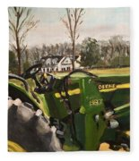 Farm In Chapel Hill Fleece Blanket