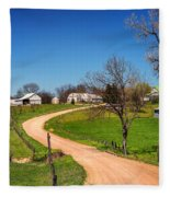 Farm In Gasconade County Mo_dsc4116 Fleece Blanket