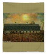 Farm Fleece Blanket