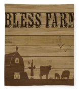 Farm Life-jp3219 Fleece Blanket