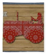 Farm Life-jp3230 Fleece Blanket