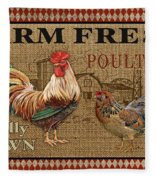 Farm Life-jp3238 Fleece Blanket