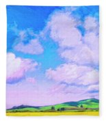 Farm Near San Luis Obispo Fleece Blanket