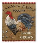 Farm To Table-jp2390 Fleece Blanket