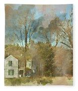 Farmhouse - Gordonsville Va Fleece Blanket