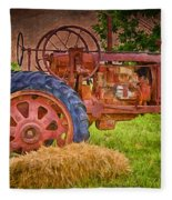 Farming In Hanksville Utah Fleece Blanket