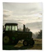 Farming John Deere 4430 Fleece Blanket