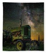 Farming The Rift 3 Fleece Blanket