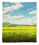 Farmland Colour Fleece Blanket