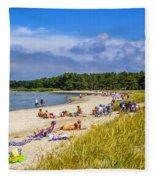 Faro Beach Fleece Blanket