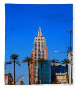 Fascination Las Vegas Fleece Blanket