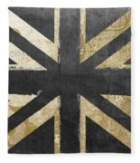 Fashion Flag United Kingdom Fleece Blanket