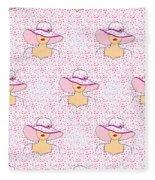 Fashion Pattern Fleece Blanket