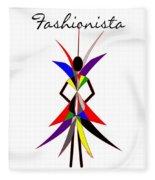 Fashionista Fleece Blanket