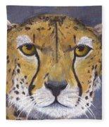 Fast Cat Fleece Blanket