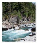 Fast River Fleece Blanket