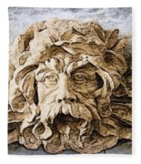Father Time Fleece Blanket