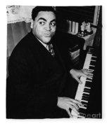 Fats Waller, American Composer Fleece Blanket
