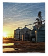Faulkner Elevator Fleece Blanket