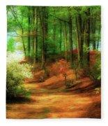 Favorite Path Fleece Blanket