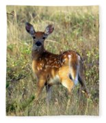 Fawn Fleece Blanket