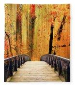 Forest Fantasia Fleece Blanket