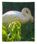 Feasting On Vegetation Fleece Blanket